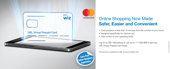how to get ubl wiz virtual prepaid card - Online Prepaid Card